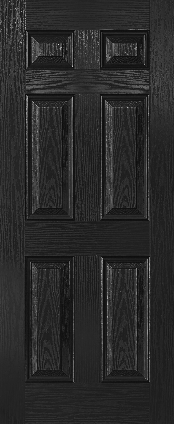 6 panel fire door
