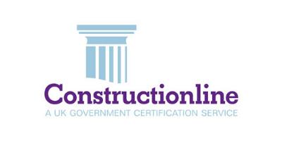 Construction line logo